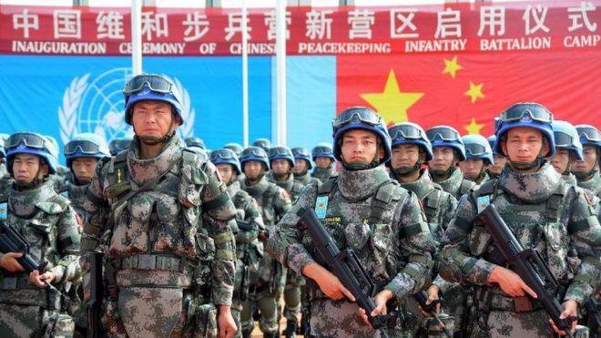 中国在南苏丹的维和部队