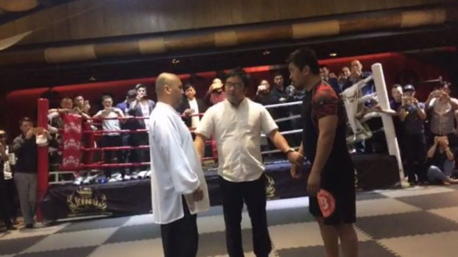 Tai chi v MMA: The 20-second fight that left China reeling