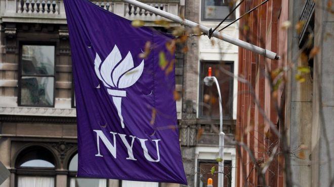 Logo de NYU.