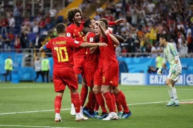 Belgia Menang Dramatis 3-2 Atas Jepang
