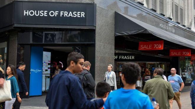 Mike Ashley sacks House of Fraser management team - BBC News cd5488d49
