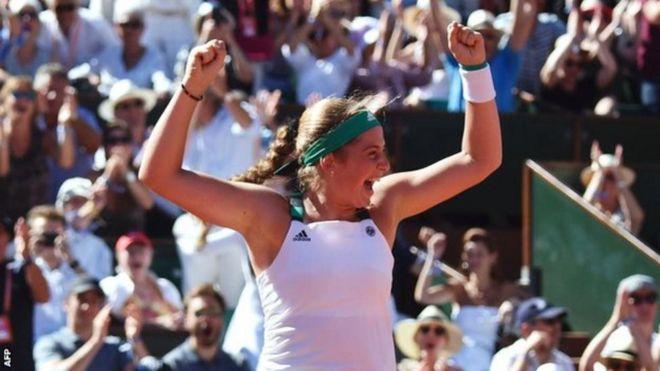Латвійська тенісистка Остапенко виграла