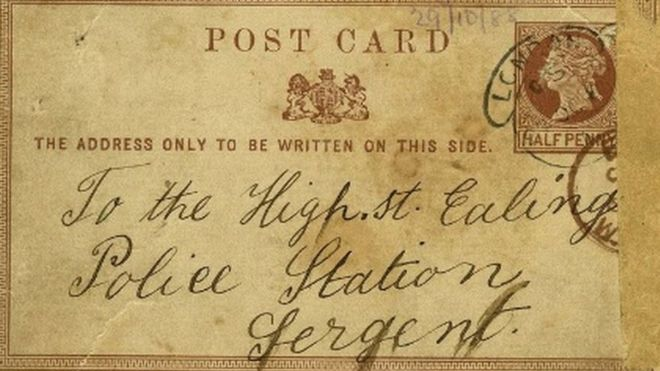 jack the ripper postcard sold for 22 000 at auction bbc news