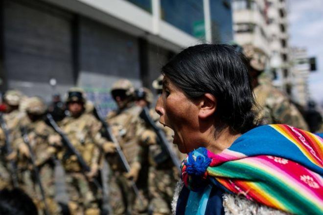 Resultado de imagen para bolivia persecucion a mujeres