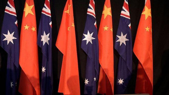 中国和澳大利亚