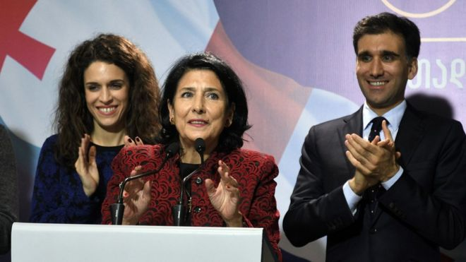 Image result for Georgia.. Salome Zurabishvili