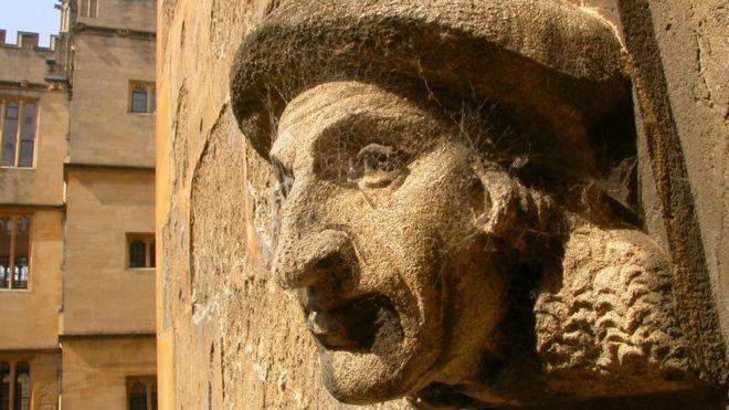 Oxford wall sculpture