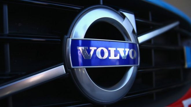 Volvo Plans Tests Of 100 Driverless Cars In China Bbc News