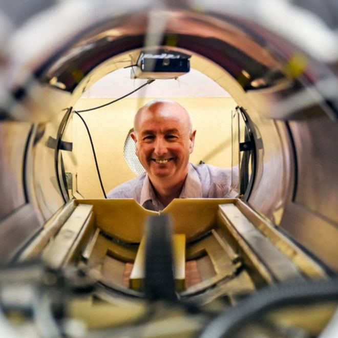 new scanner like mris in one developed in aberdeen bbc news prof david lurie