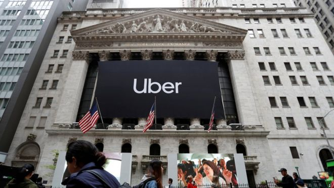 Abertura de capital da Uber em 10 de maio de 2019