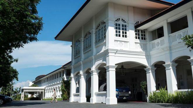 Khách sạn năm sao Capella sẽ là nơi tổ chức hội nghị thượng đỉnh