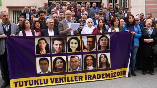 HDP tutuklu vekilleri