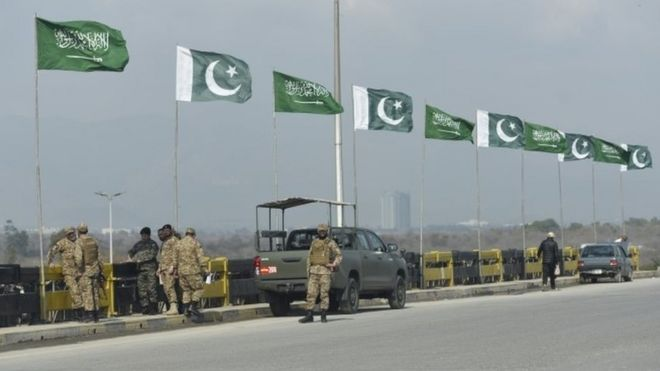 سعودی ولی عہد کا دورۂ پاکستان