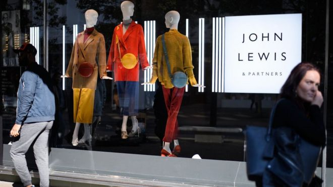 John Lewis shop window