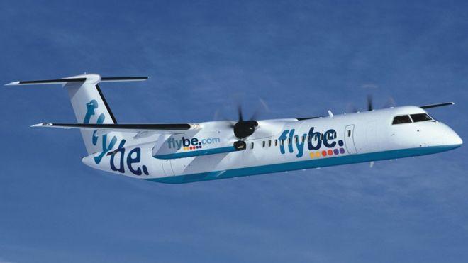 quality design 0e2c4 4de38 Flybe cancels flights amid redundancy talks - BBC News