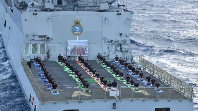 भारतीय नौसेना का योग