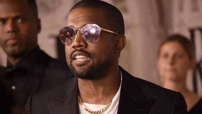 Kanye West will record his new album in Africa - BBC News