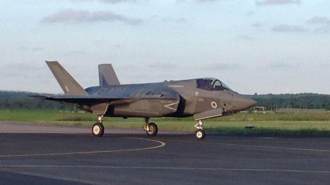 英軍F35