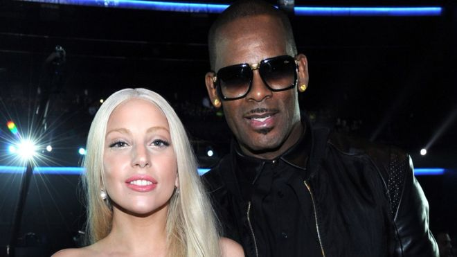 Image result for r kelly and lady gaga
