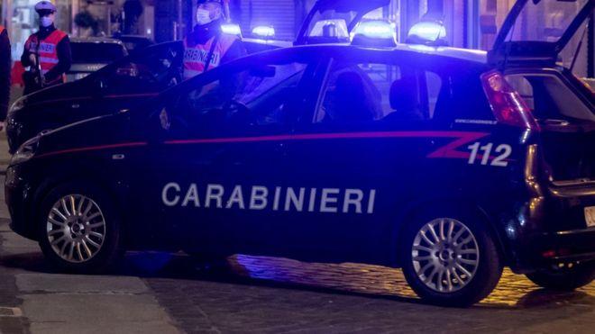 صورة أرشيفية للشرطة الإيطالية