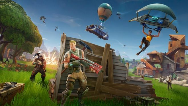 Fortnite Battle Royale Adds Cheeky Warning For Students Bbc News