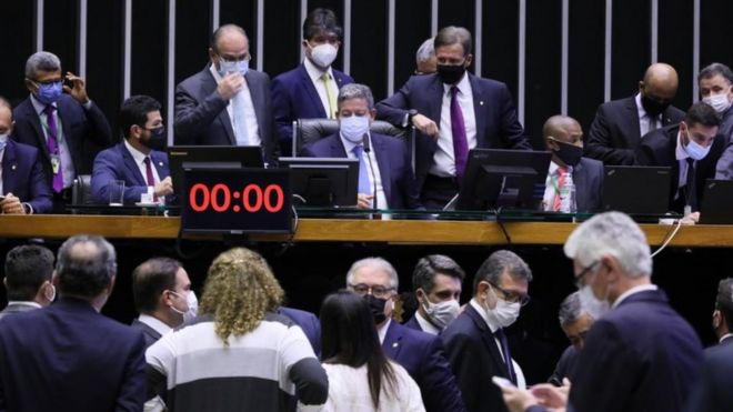 Votação da Reforma do IF na Câmara no dia 1 de setembro de 2021