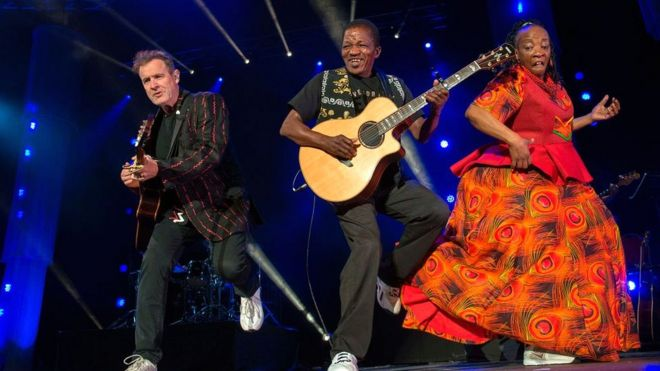 Johnny Clegg, South African musician and activist, dies aged 66