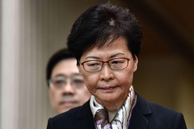 Lãnh đạo Hong Kong Carrie Lam sắp tuyên bố chính thức rút dự luật dẫn độ