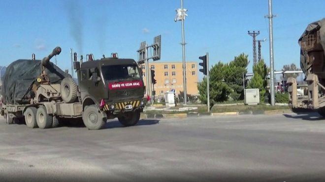 تركيا تعزز قواتها في إدلب