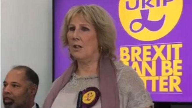 General election 2019: UKIP launches manifesto _109971499_paytmountain