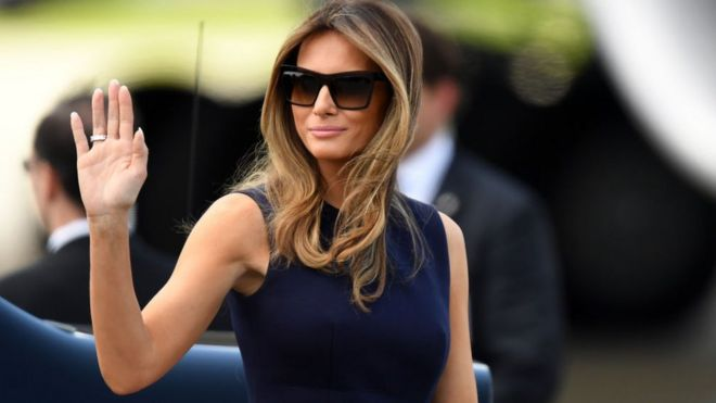 ffb9491e5a Melania Trump in Africa  Can she become a fashion ambassador for ...