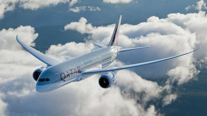 Ministers pay 1m to qatar airways to market wales bbc news qatar airways boeing 787 dreamliner stopboris Image collections