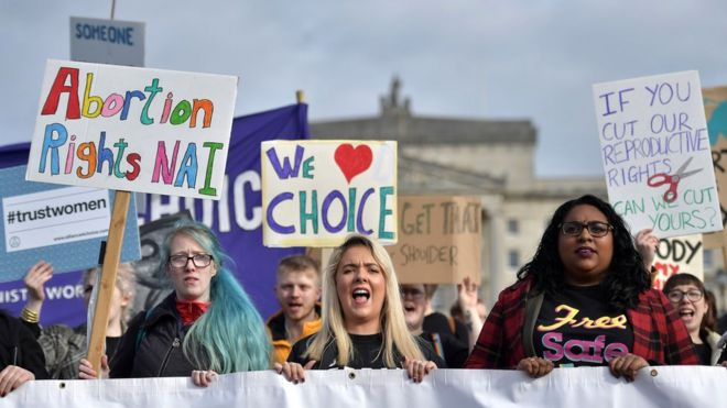Northern Ireland laws change on abortion, same-sex marriage