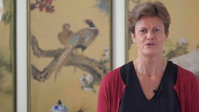 Дама Барбара Вудворд, посол Великобритании в Китае