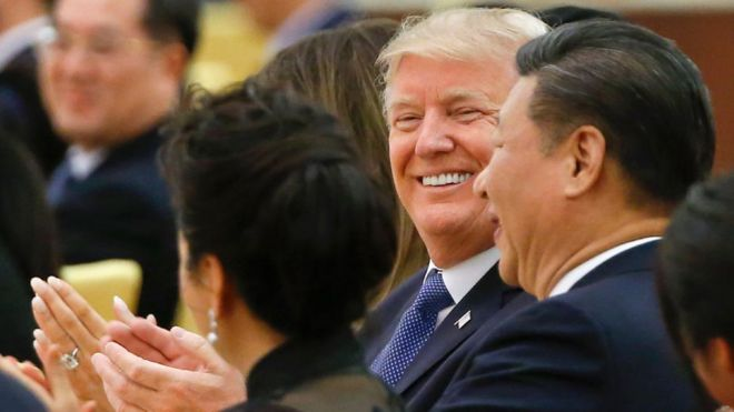 Donald Trump, Tập Cận Bình