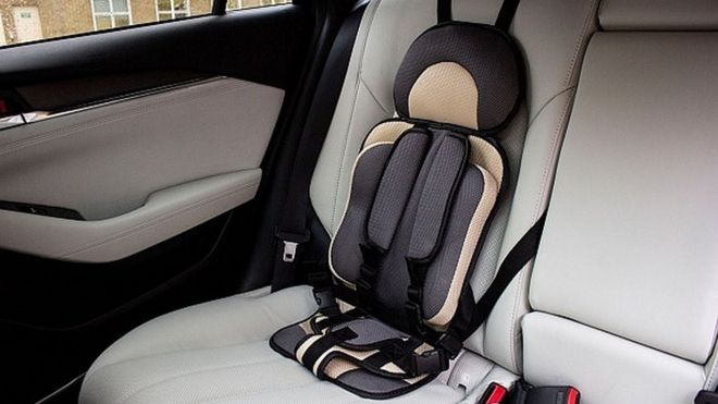 Killer car seats' sold online for £8