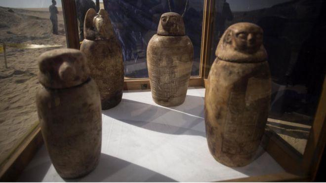 Jarros egípcios antigos