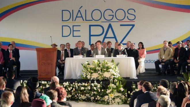 Мирные переговоры в Кито, церемония открытия