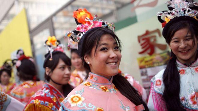Người Hoa ở Paris thường tổ chức đón Tết Nguyên Đán hàng năm, nhưng năm nay, các hoạt động lễ hội mừng Tết Canh Tý bị hủy (hình minh họa)