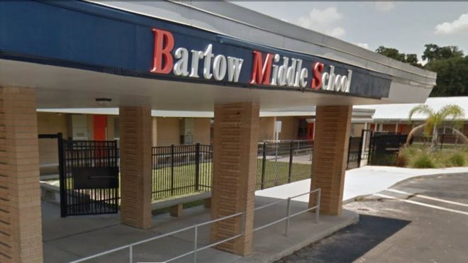 Bartow Middle School entrance