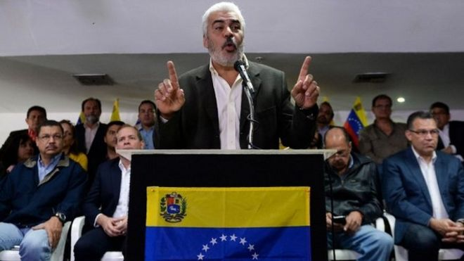 La MUD, coalición líder opositora de Venezuela, confirma que no estará en las elecciones si el gobierno no confirma garantías