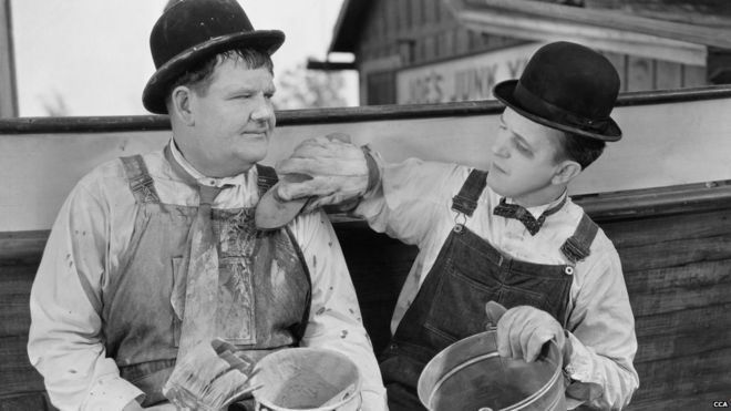 Laurel and Hardy receive anniversary makeover - BBC News