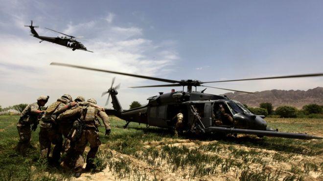 القوات الأمريكية في أفغانستان عام 2010
