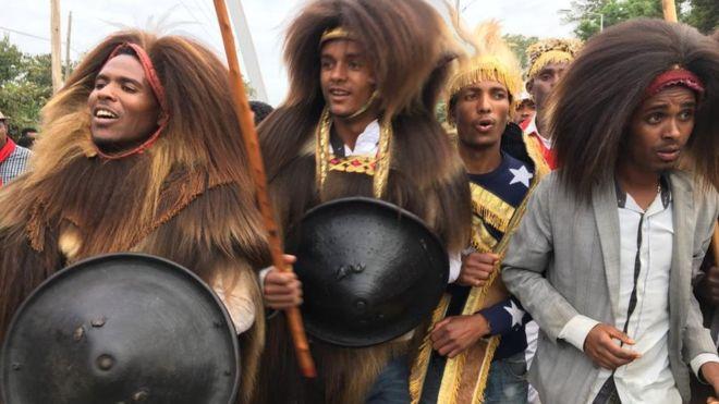 Dargaggoo n tulamaa akkanaan gaachanaa qabachuufi catee kaawwachuun gootummaa Oromoo agarsiisuu ayyanneefachaa jiru