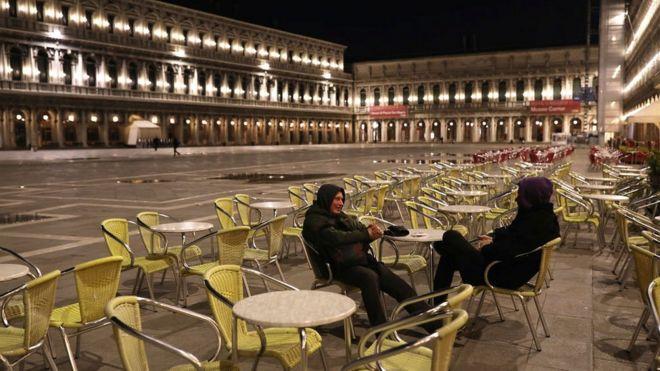 Plaza San Marco, Venecia.