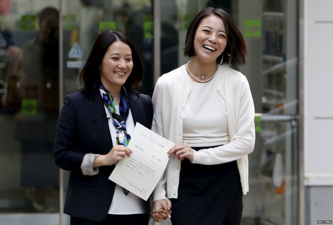 Legalisation of homosexuality in japan