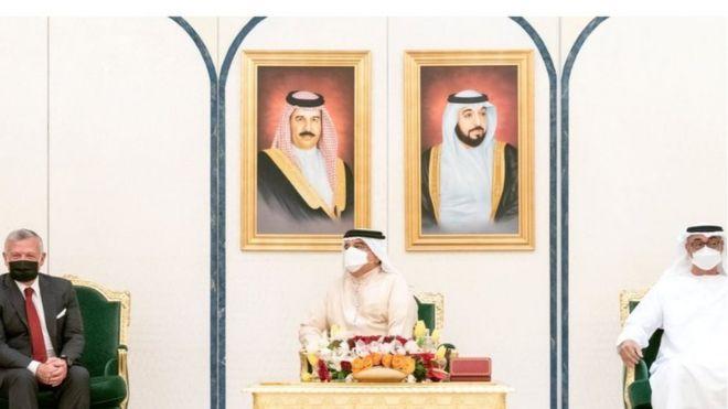 جمعت القمة ملك البحرين وولي عهد أبوظبي والعاهل الاردني