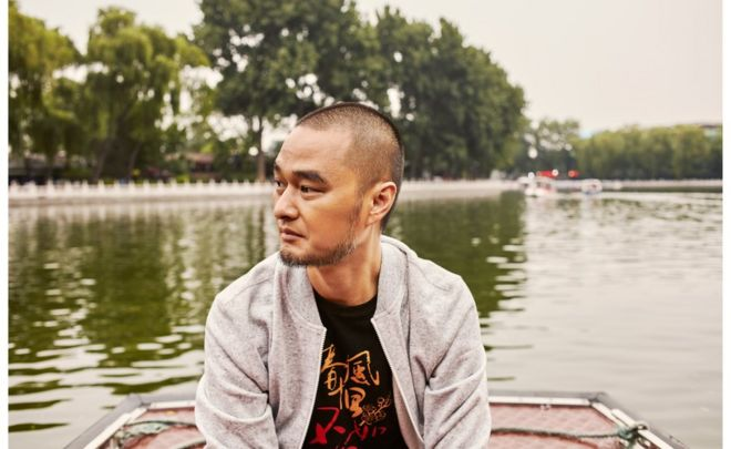 7月香港書展期間,馮唐在香港接受了BBC中文專訪。圖為受訪者提供。