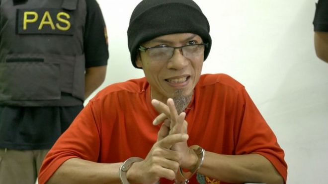 Iwan Darmawan alias Rois, terpidana mati pengeboman Kedutaan Besar Australia di Jakarta.