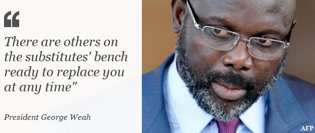 Цитата: На скамейке запасных есть другие, готовые заменить вас в любое время